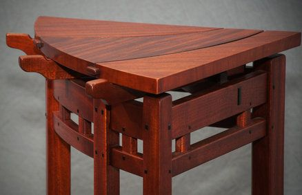 Tall Corner Table Corner Table Woodworking Designs Table