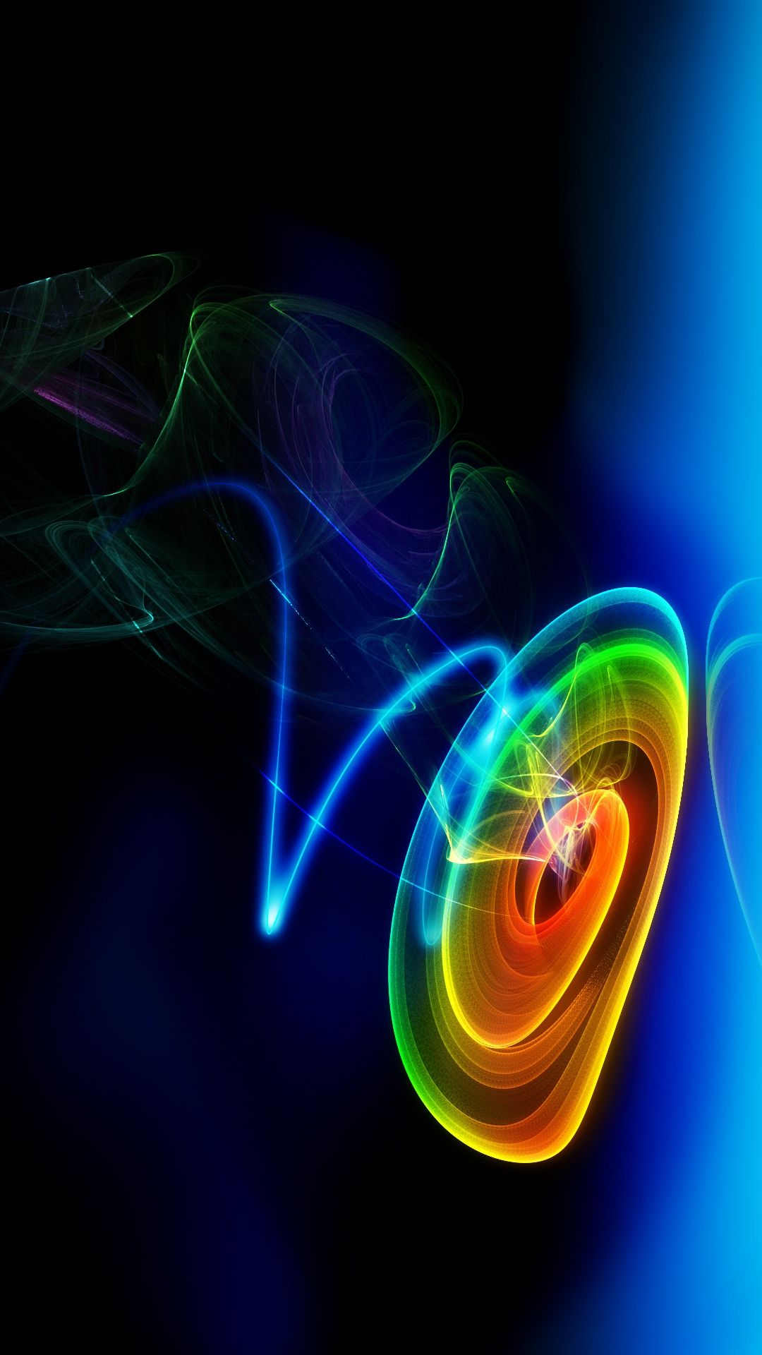 Abstract wallpaper for Galaxy S4. background in 1080x1920