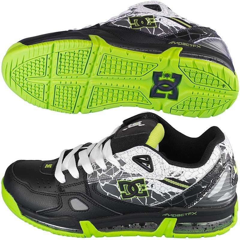 Sneaker DC Shoes Versaflex Ken Block black/lime