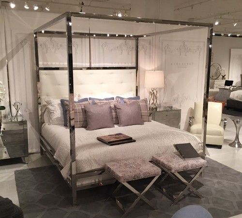 Style Spotting The Best Of High Point Market 2014 Aspire Design And Home Bed Interior Canopy Bedroom Bedroom Design