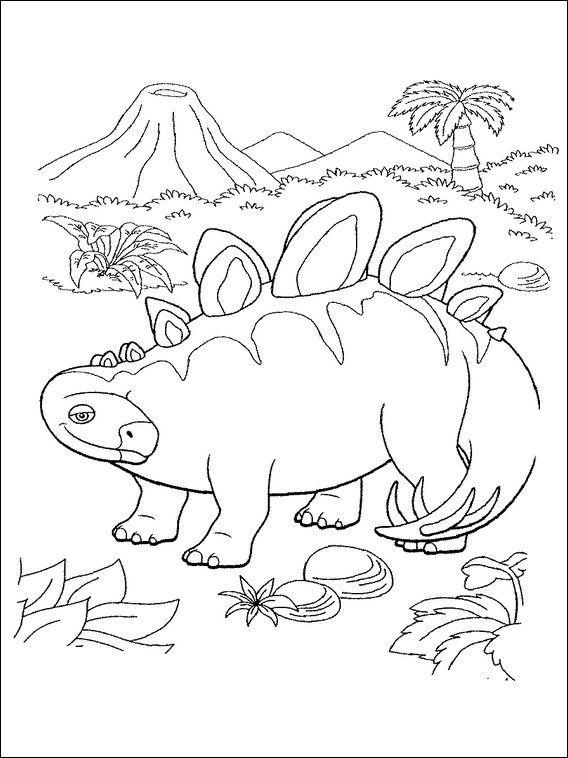 dinosaurier zug 17 ausmalbilder für kinder malvorlagen