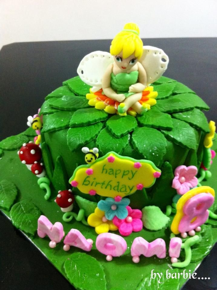 TinkerBell cake by....Cake it with Barbara <3