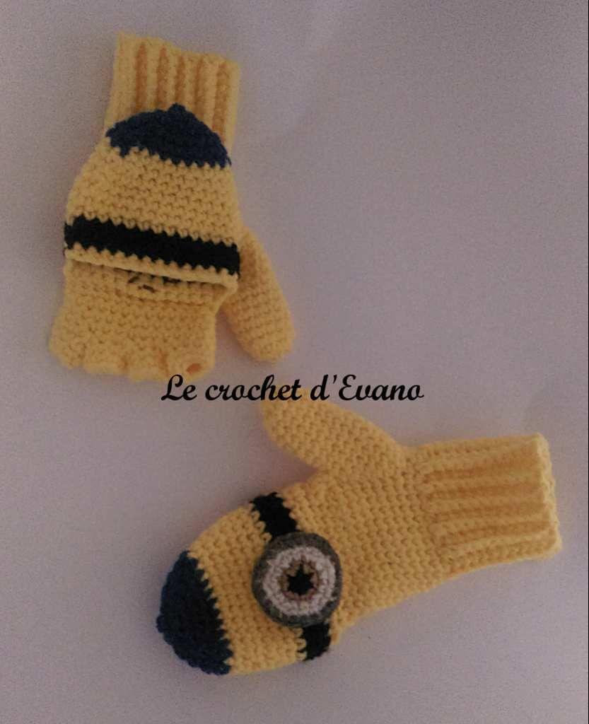 Tuto gratuit crochet les moufles convertibles gants et crochet bankloansurffo Choice Image
