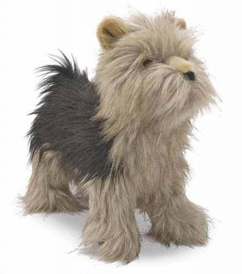 Jumbo Plush Yorkshire Terrier Dog