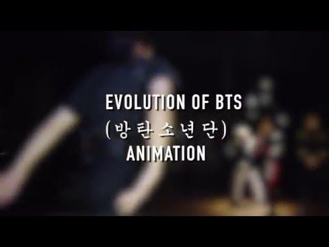 Evolution of BTS [Animation] - ACTUALLY AMAZING I LOVE THIS