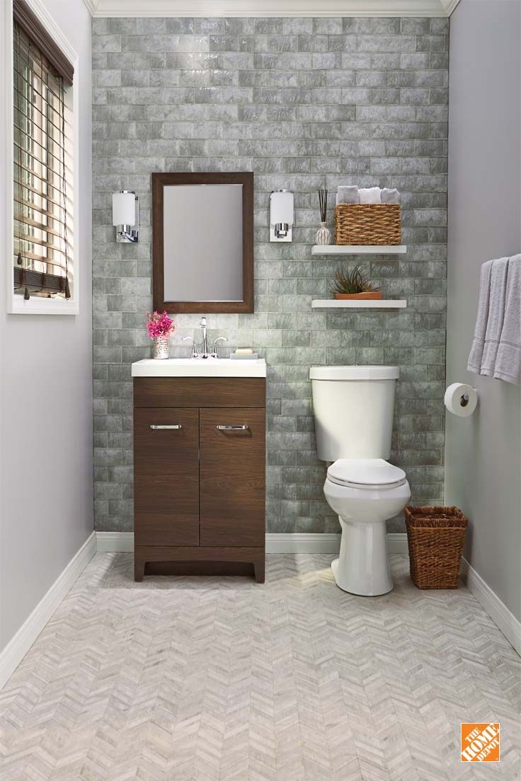 Style Your Bathroom With This Compact And Contemporary