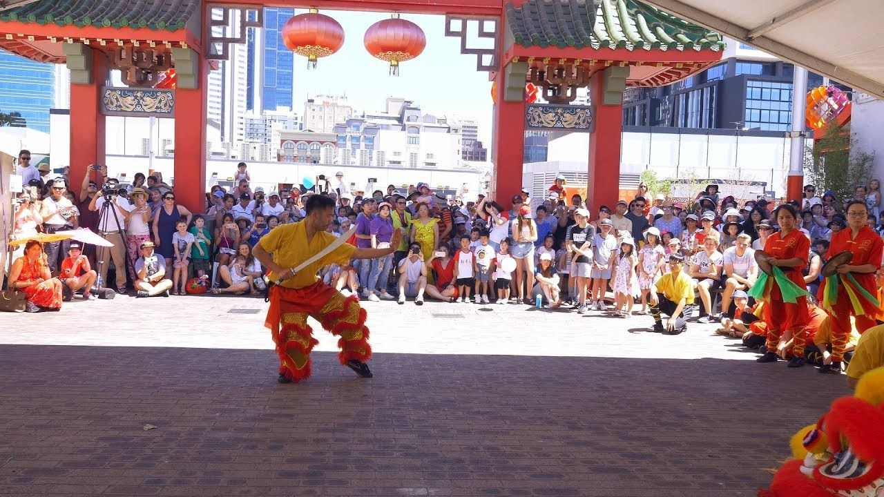 Kung Fu Demonstration Perth Chinese New Year Fair CNY 2019