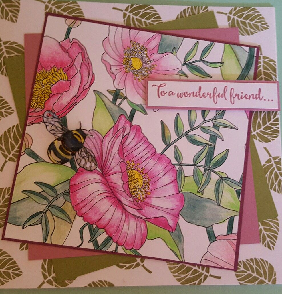 inside the linesstampin up  paper crafts cards cards