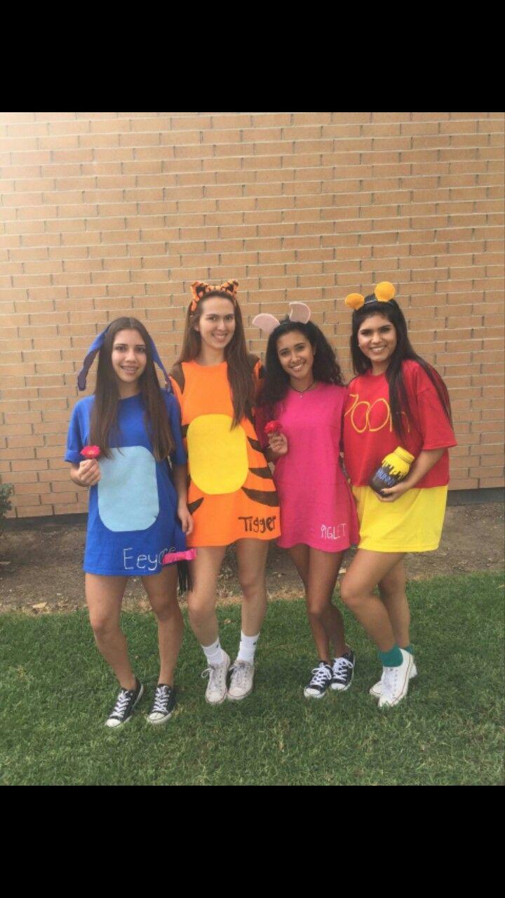 eeyore, tiger, piglet, pooh halloween costume | piglife in 2018