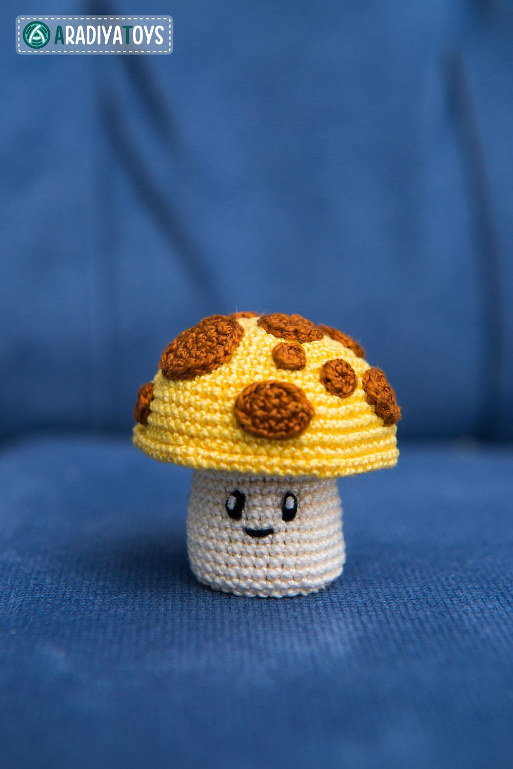 Ravelry sun shroom from plants vs zombies pattern by olka find this pin and more on free pattern crochet by fishmammago bankloansurffo Choice Image