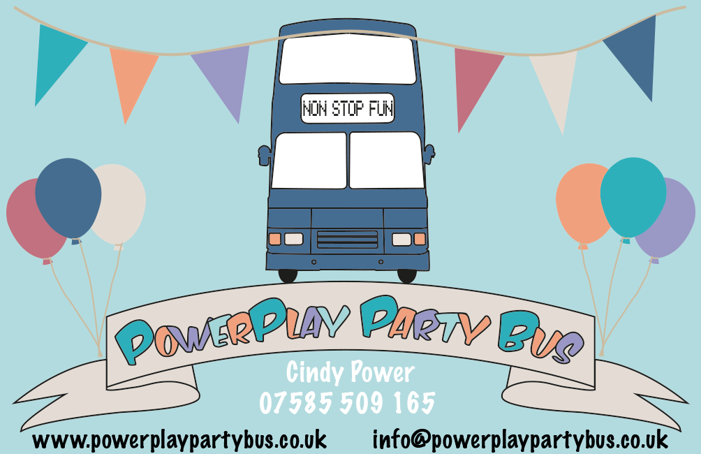 Powerplay party bus business card powerplay party bus pinterest powerplay party bus business card colourmoves