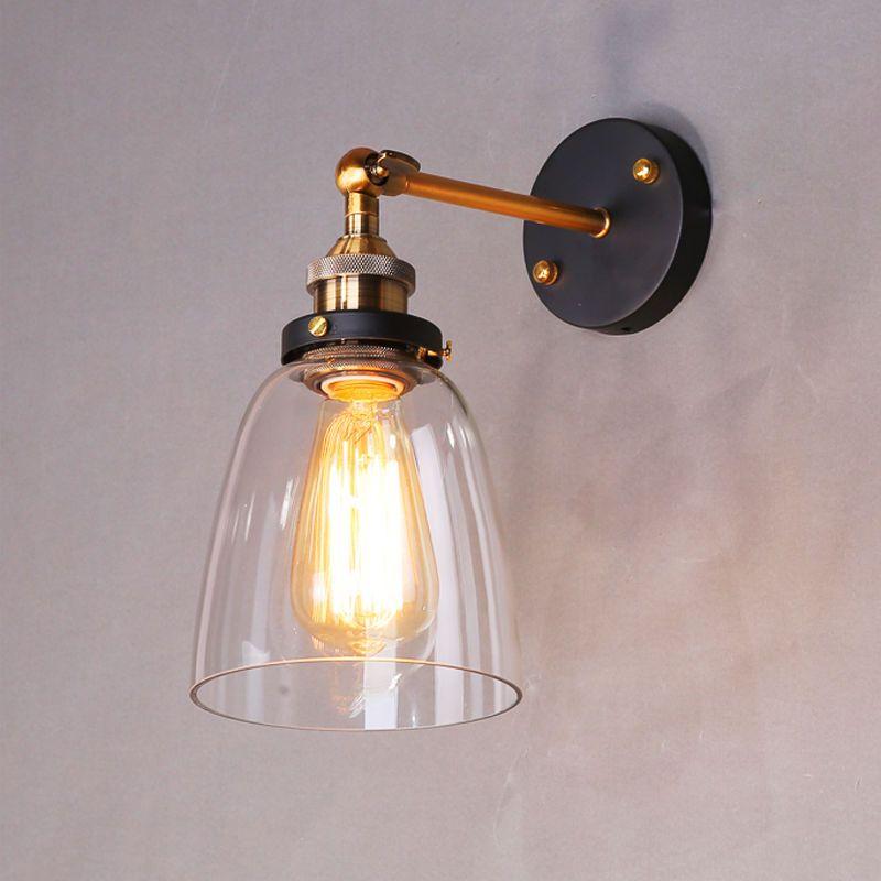 Indoor Wall Lights Bathroom Glass Wall Sconce Kitchen Led Lamp Bedroom Lighting Wall Lamp Wall Lights Glass Wall Lights