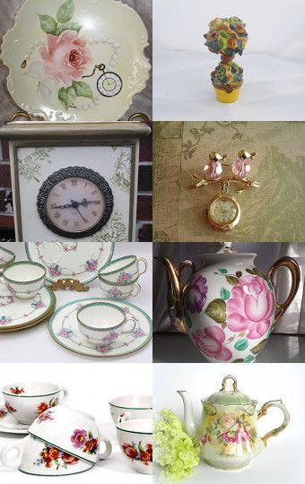 Springtime Teatime! by Jennifer on Etsy--Pinned with TreasuryPin.com