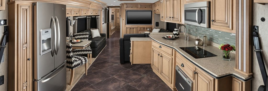 Dutch Star Diesel Motor Coach Interior Luxury Motorhomes Motor