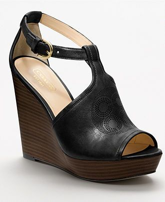 522c6c097484 COACH JUDAY WEDGE - All Womens Shoes - Shoes - Macys