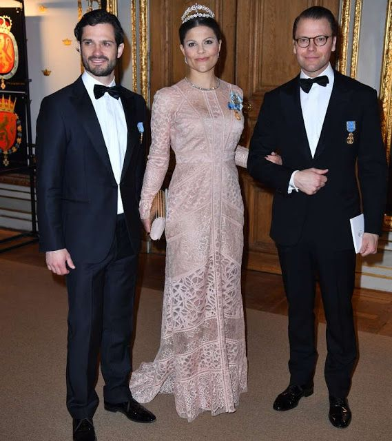 Banquet for the 70th birthday of the King Carl Gustaf