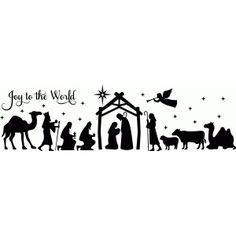 Silhouette Design Store - View Design #70556: full nativity