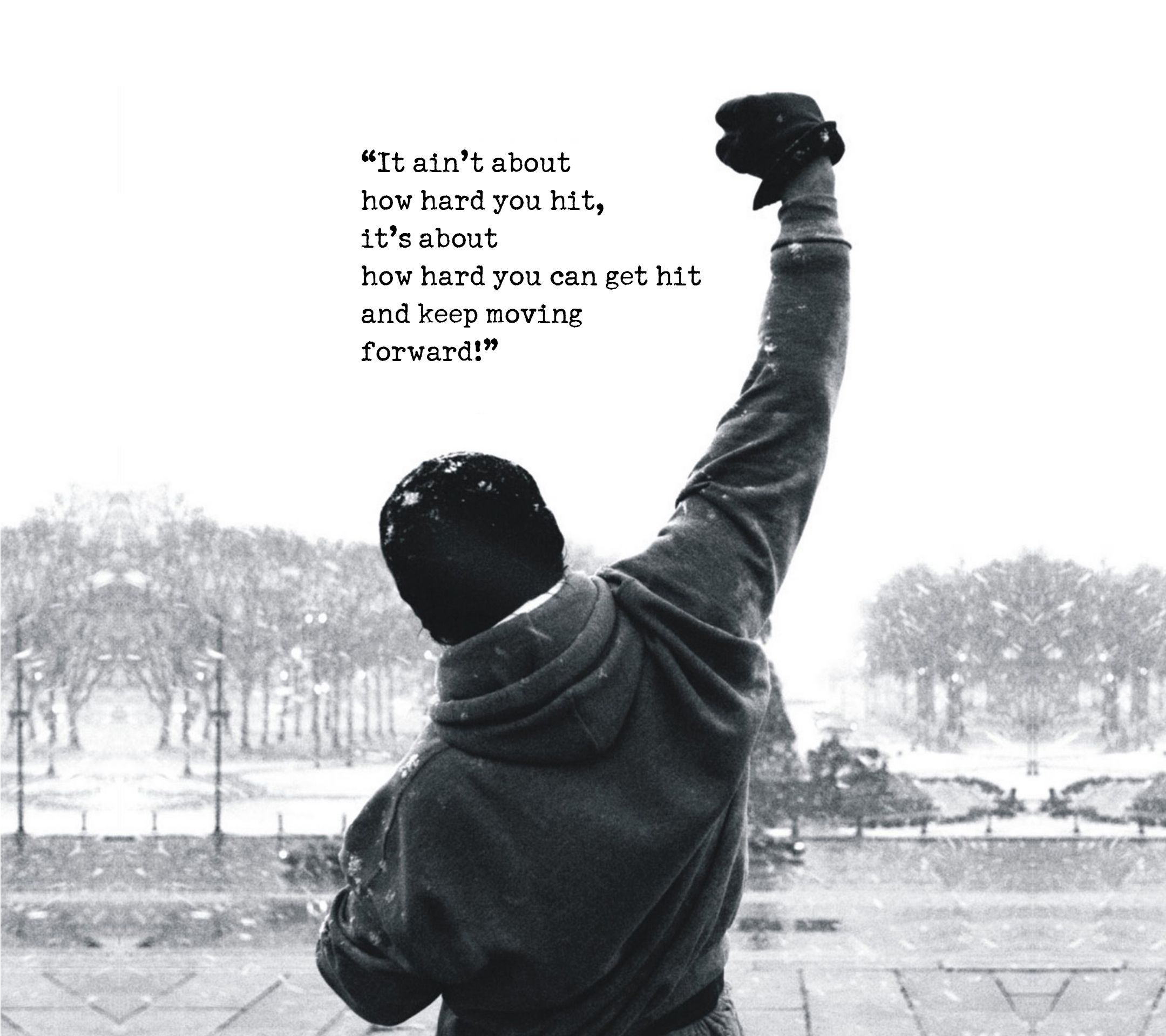 Famous Rocky Quotes Rocky Motivation  Physic Inspiration  Pinterest  Physics And