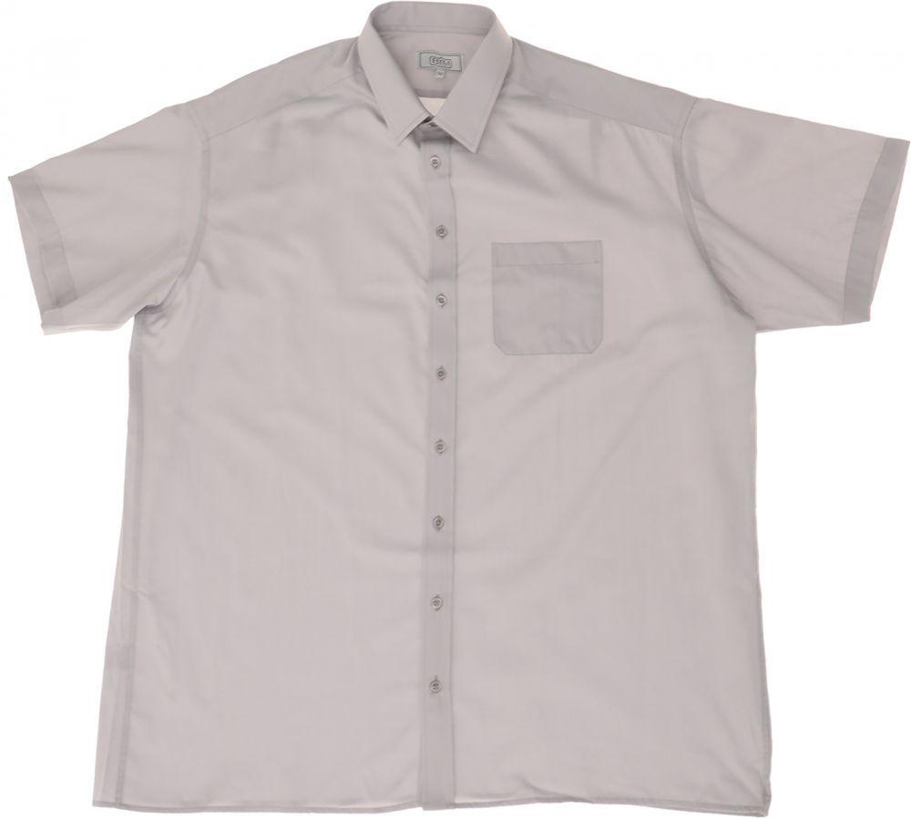 قميص بكم قصير للرجال من بى تى ام رمادى Shop Mens Fashion Mens Fashion Mens Tops
