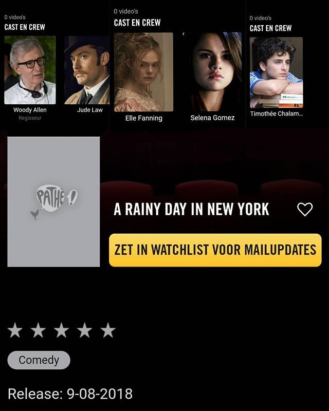 Download A Rainy Day in New York Full-Movie Free
