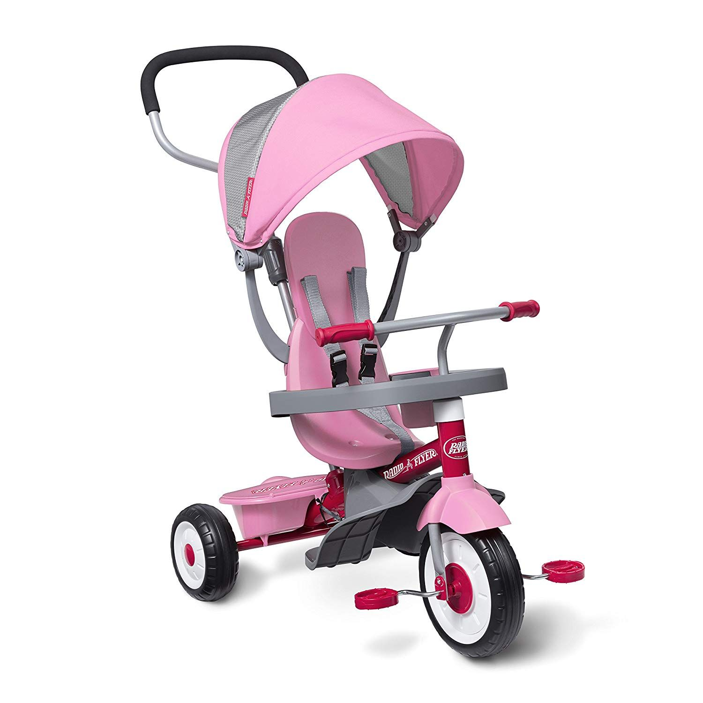 4 ways to ride Infant trike, steering trike, learnto
