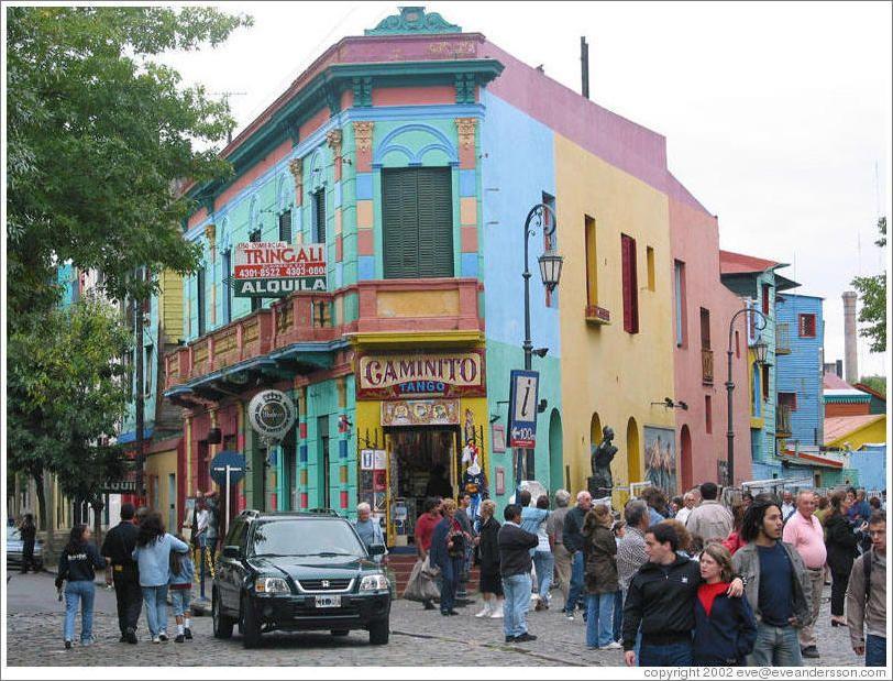 La Boca Argentina Paradise Places Places To Go Favorite Places