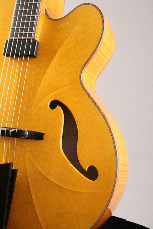 Mario Beauregard Guitar Builkder Luthier Montreal Canada Beauregard Guitars Guitar Acoustic Guitar Archtop Guitar