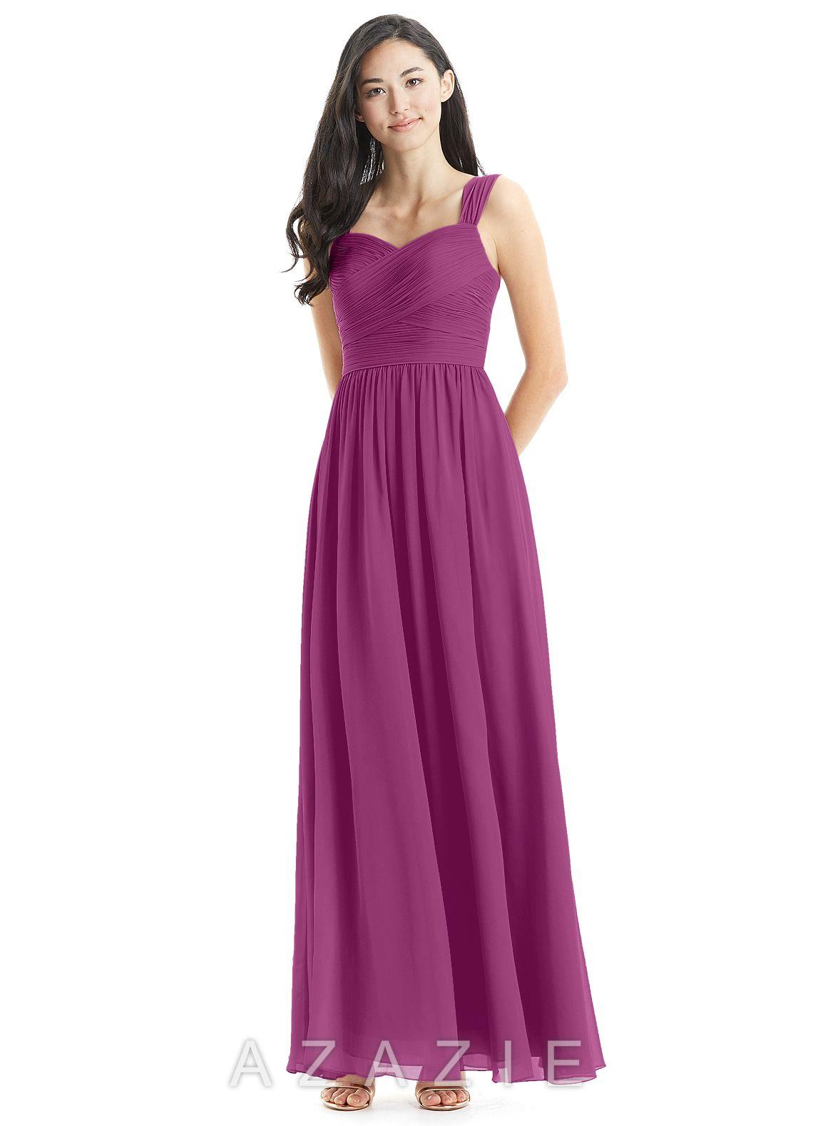 90a33fce9a6 Azazie Zapheira Bridesmaid Dress - Orchid