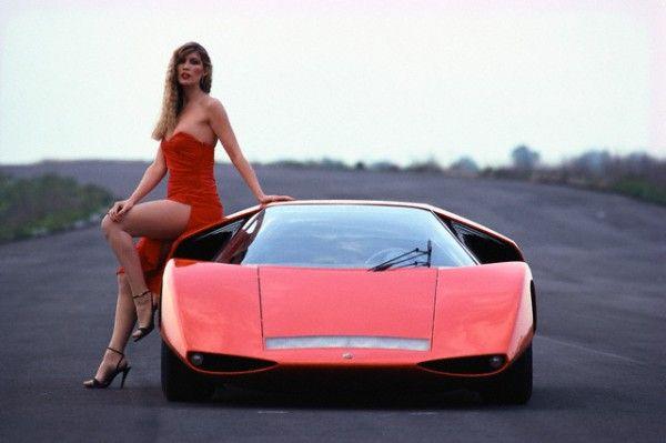 Concept cars - Pininfarina Fiat Abarth 2000 Scorpio concept 1969.