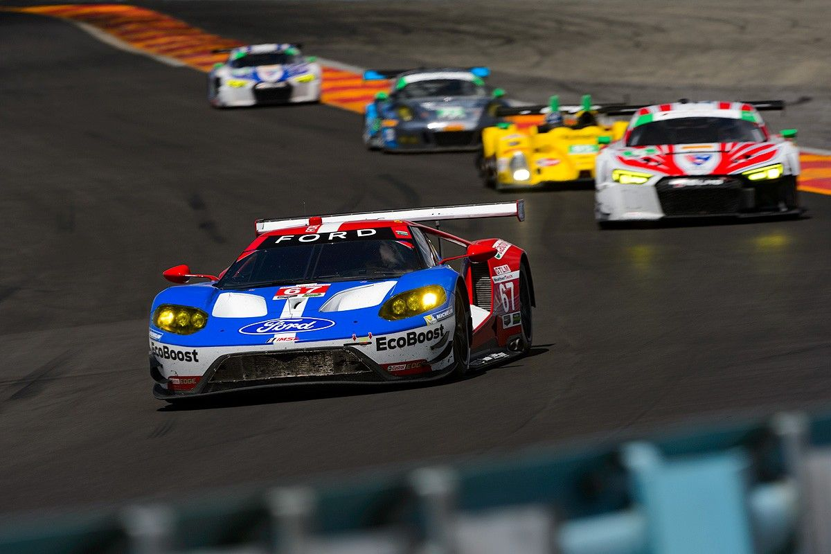 Ford Gt Racing Program In 2016 Ford Gt Ford Racing