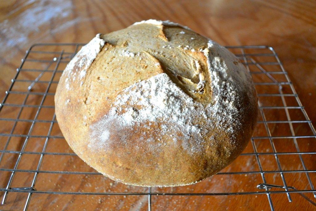 Basic noknead sourdough loaf or i will write you an
