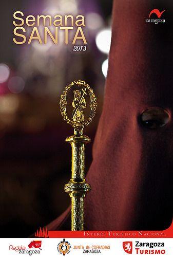 Cartel Semana Santa Zaragoza 2013