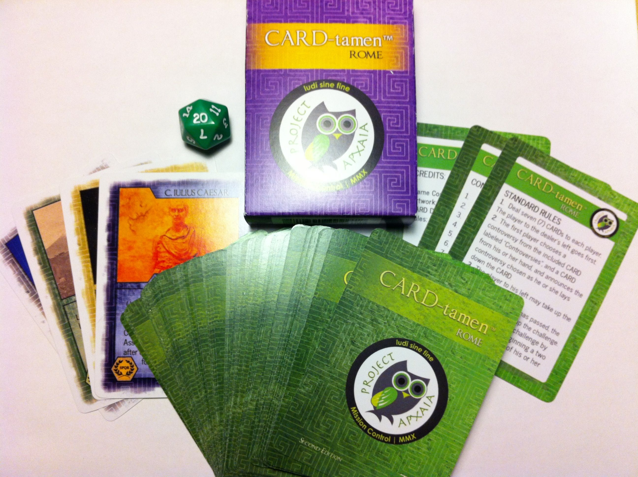 Card Tamen Is An Exciting New Educational Card Game