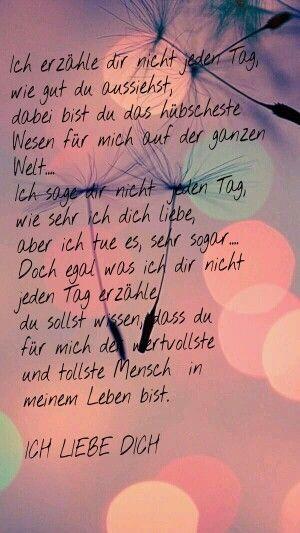 Ich Liebe Dich Sprüche Gedichte #gedichte #liebe #spruche