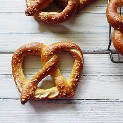 Homemade German Pretzels