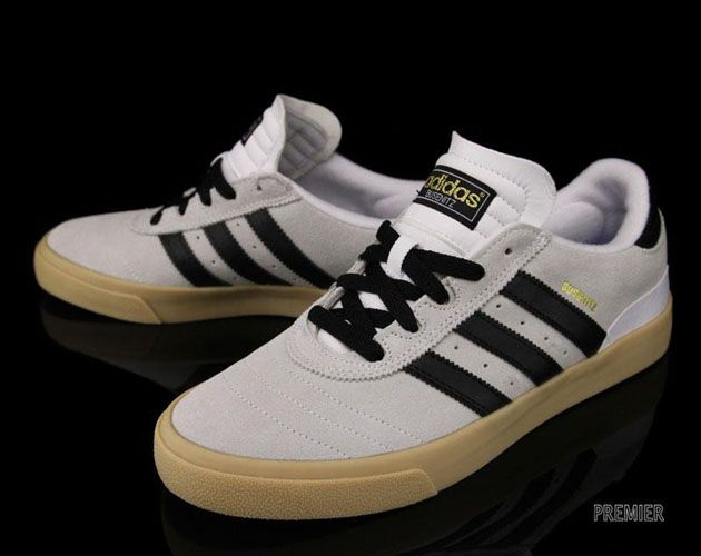 sports shoes ce8e3 77a03 adidas Skateboarding Busenitz Vulc-Running White-Black sneakers kicks