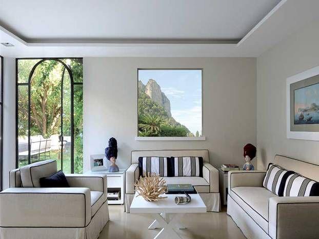 Una villa a capri progettata dal 39 architetto gundi widmann for Architetto per interni
