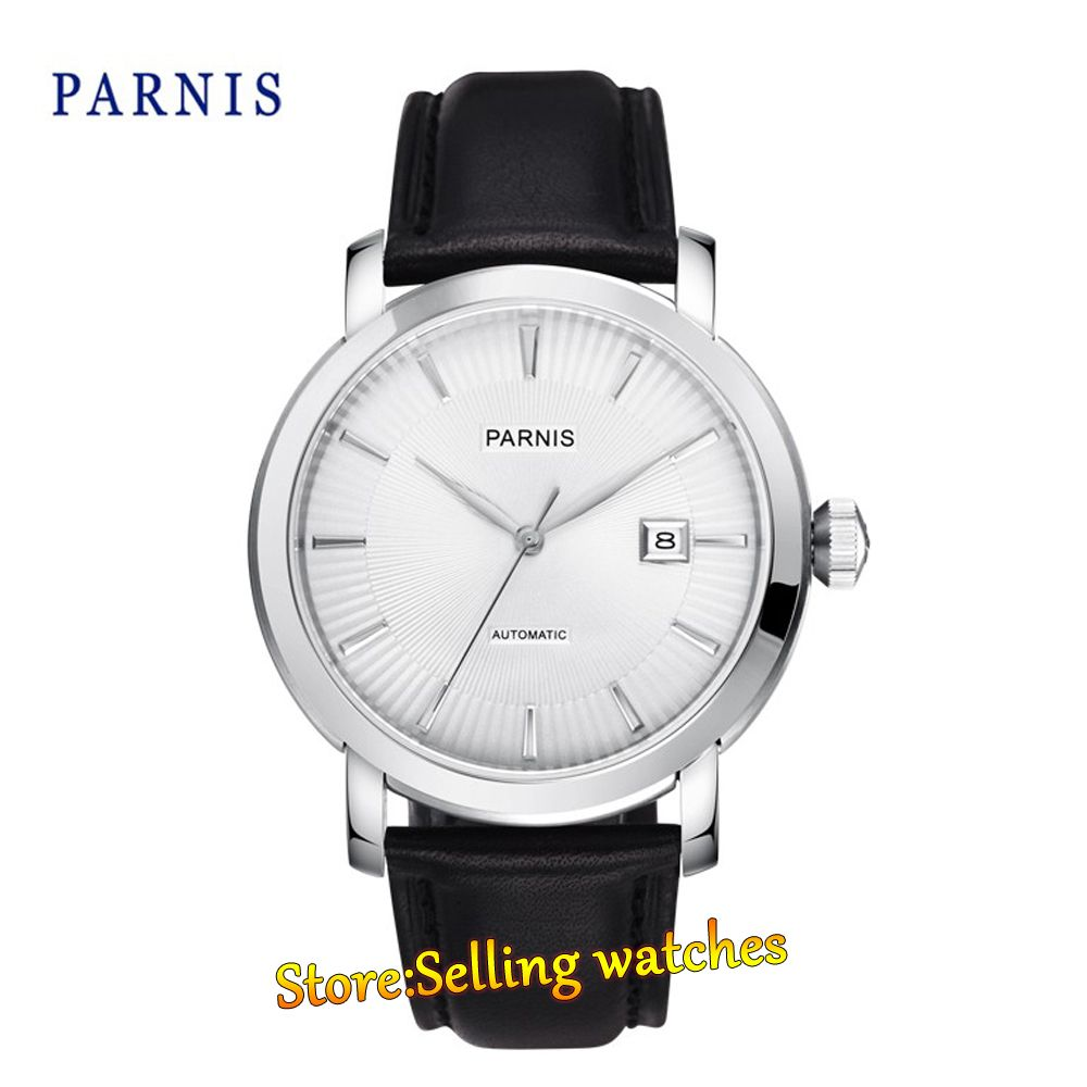>> Click to Buy << Parnis 42mm 21 Jewels Japan Miyota Automatic Movement Date Business Men's Watch #Affiliate
