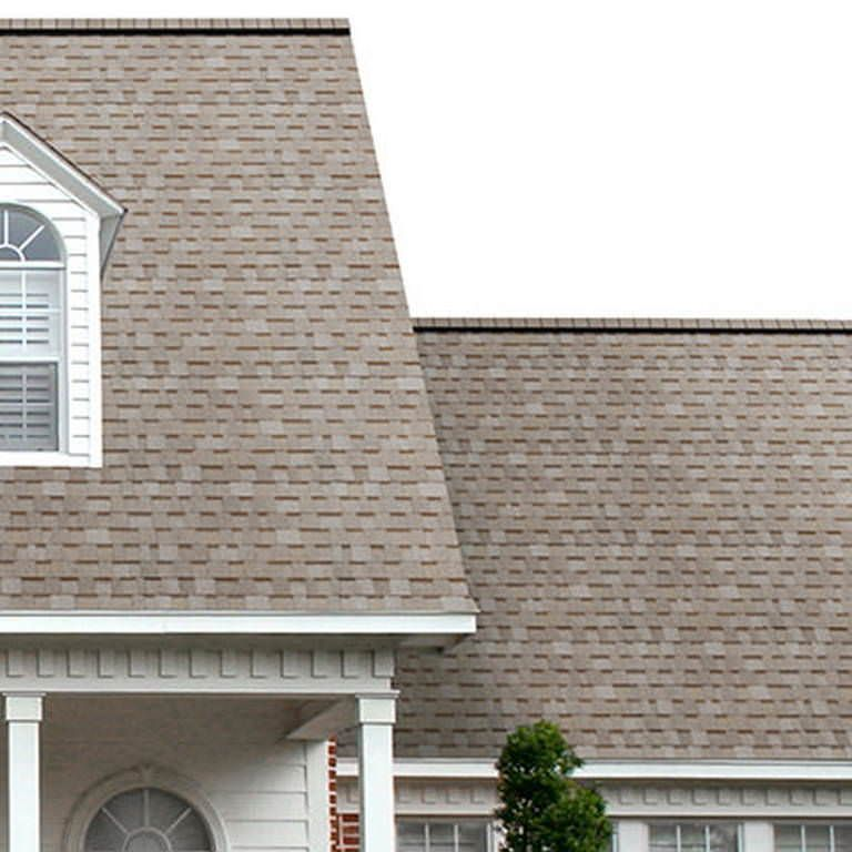 Best Owens Corning Oakridge Shingles Beachwood Sand Roof 400 x 300