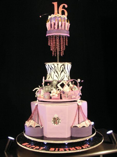 Sweet 16 Cakes Google Image Result For Cdncakecentral D