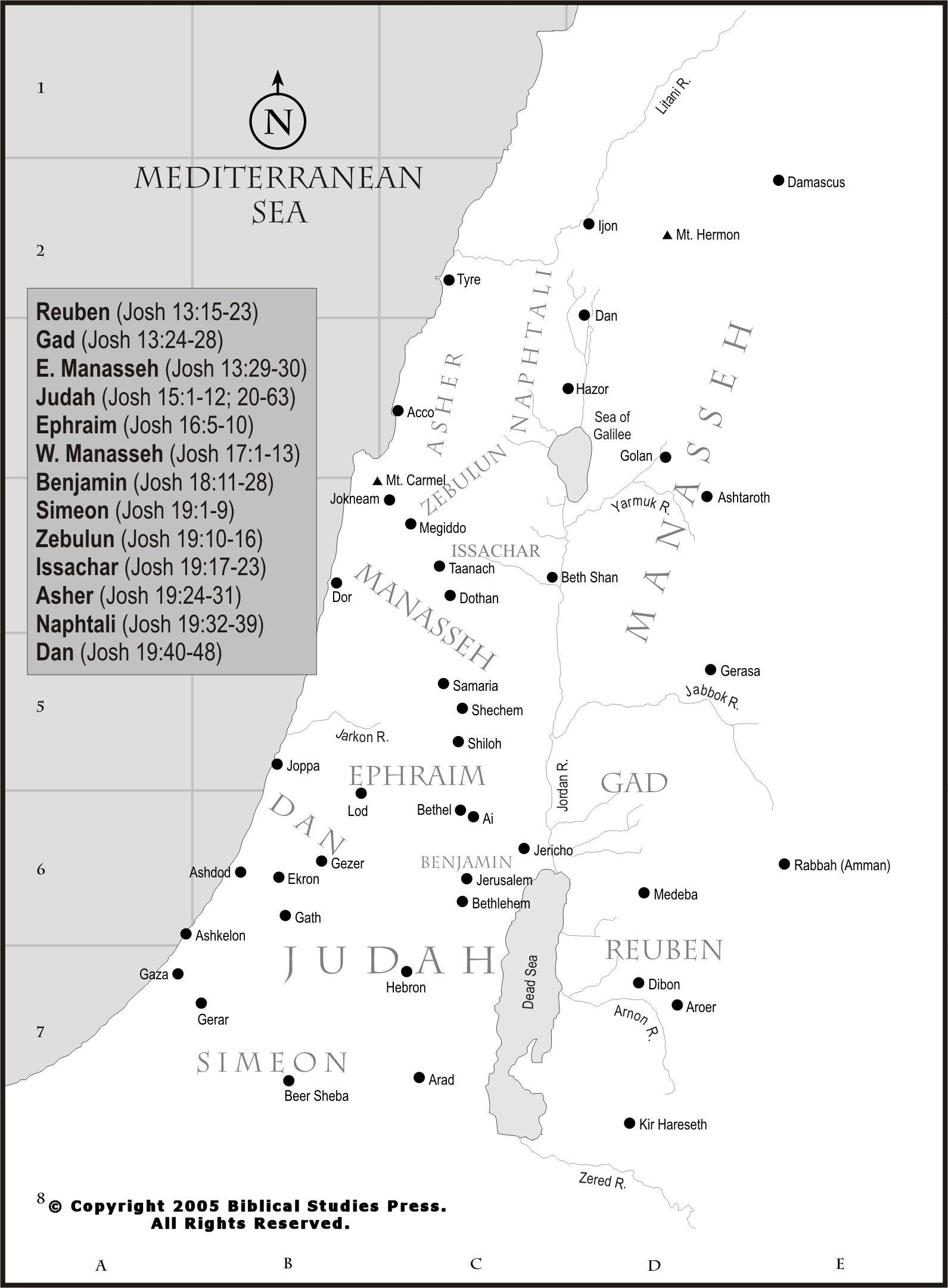 12 Tribes Location