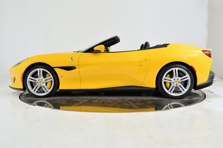 Ferrari Portofino Yellow Dengan Gambar