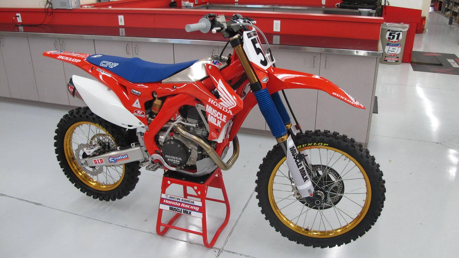 Justin Barcias A Retro CRFR Custom Jersey Sublimation - Custom motorcycle stickers racing