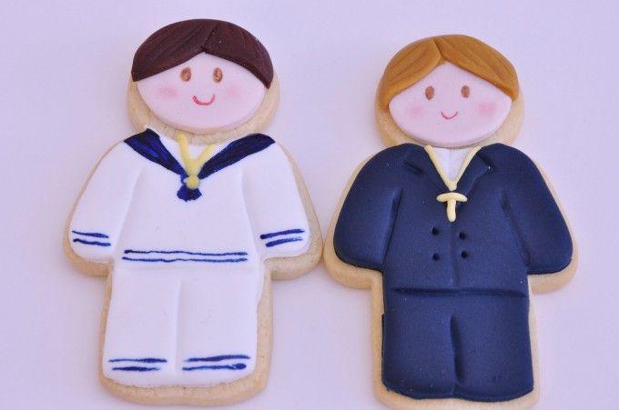 Recordatorios para #comuniones - #galletas niños