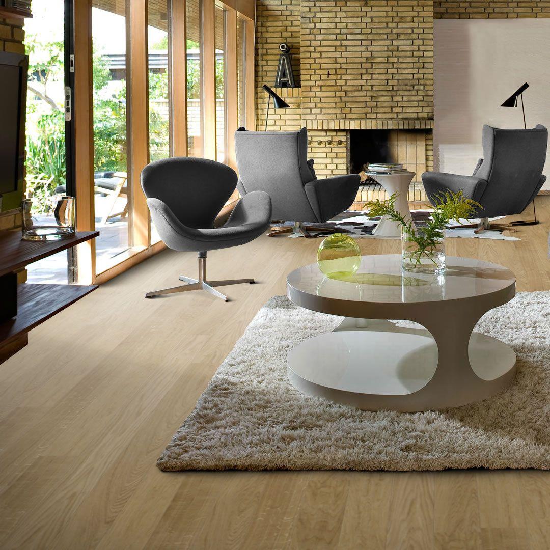 The Kahrs oak Milano engineered wood flooring is