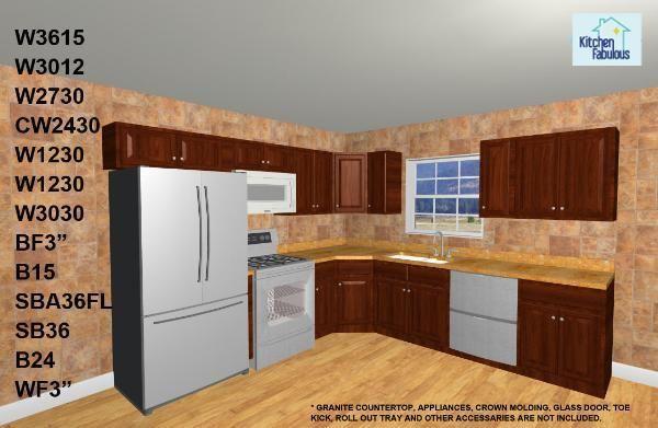 10 X 10 Kitchen Cabinet Layout Kitchen Layout Popular Kitchen Designs Kitchen Design Layout Island