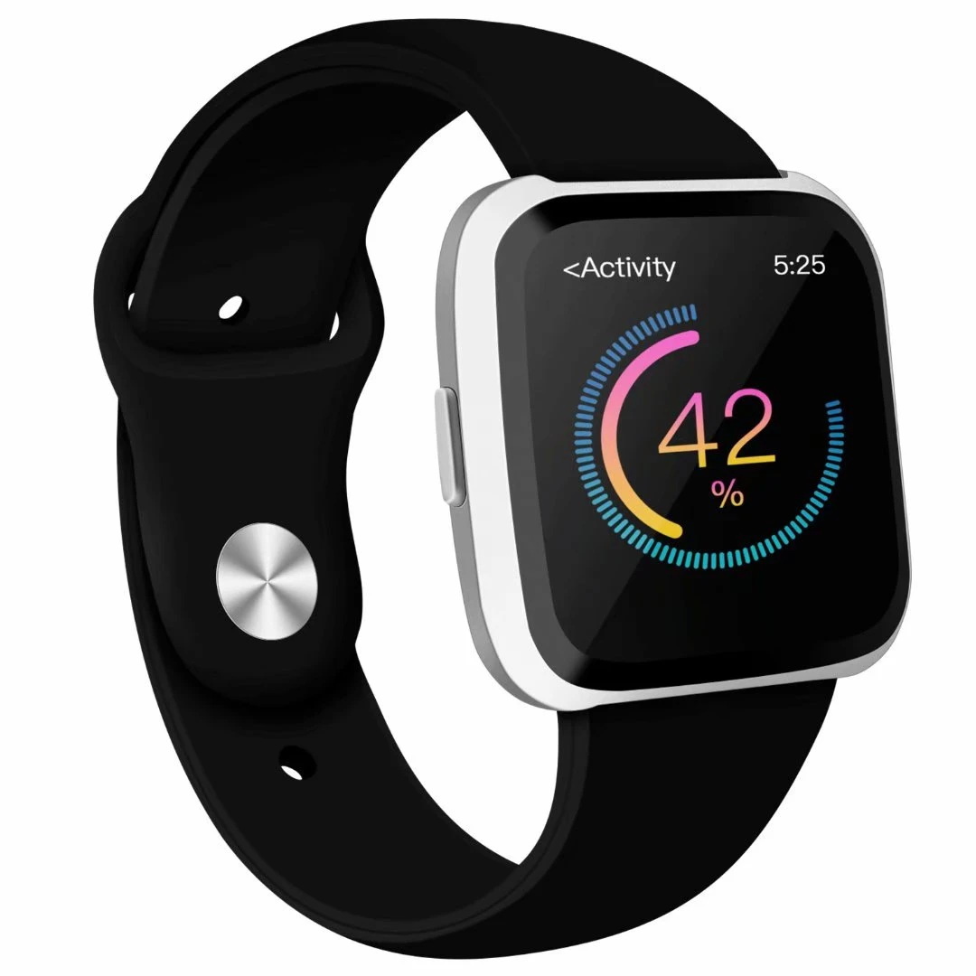 Adepoy Soft Silicone Strap Replacement Bands For Fitbit Versa 8 99 Usd In 2020 Fitbit Watch Band Soft Silicone Fitbit