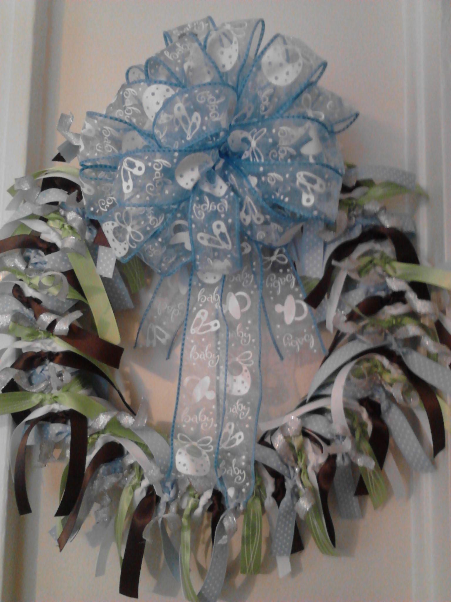 Its a Boy Wreath