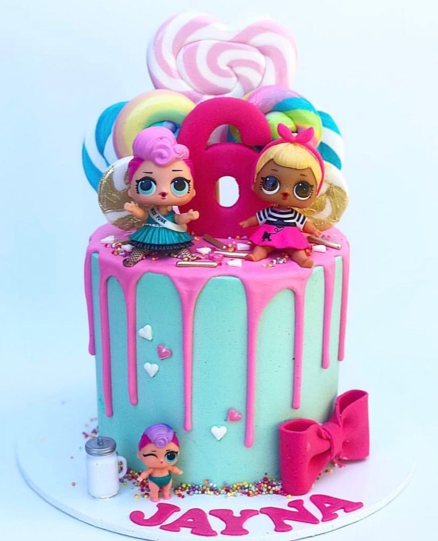 Lol Surprise Dolls Birthday Cake With Images Funny Birthday