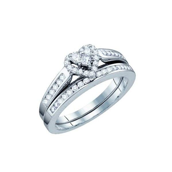 heart diamond ring white gold diamond heart shaped wedding